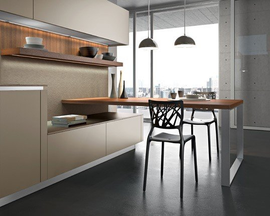 Snaidero e l 39 innovativa cucina way rose in the wind - Cucine snaidero moderne ...