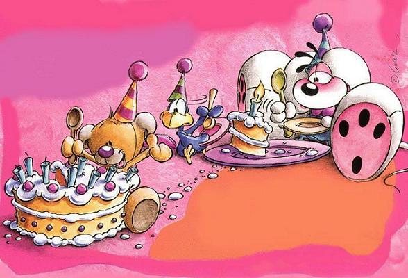 Favoloso Più di 100 cartoline per augurare buon compleanno a chi vuoi bene  DU89
