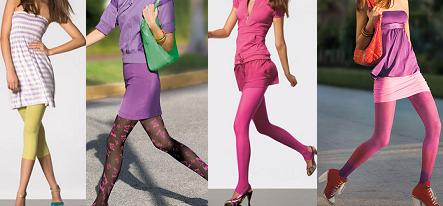 calzedonia color energy 1   Calzedonia: parigine, pantacollant, calze e calzini per tutta la Primavera Estate 2009!