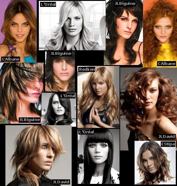 capelli lunghi estate 2009   Estate 2009: 30 foto per scegliere il taglio capelli più fashion!