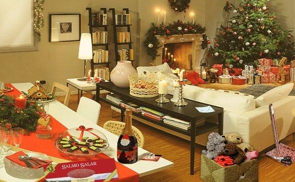 15 simpatiche idee per gli addobbi natalizi rose in the - Decorazioni natalizie ikea ...