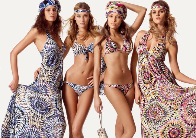 fantastici i costumi da bagno proposti da undercolors benetton per l estate 2010