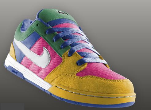 nike scarpe colorate