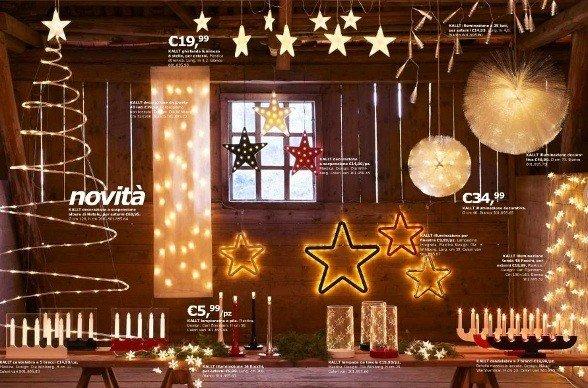 Natale 2010 IKEA: luci, addobbi, idee decorazioni casa - Rose In The Wind