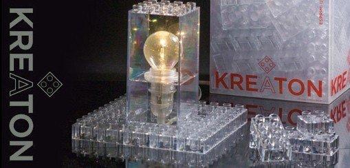 Kreaton crea la tua lampada con dei mattoncini in for Crea la tua cameretta
