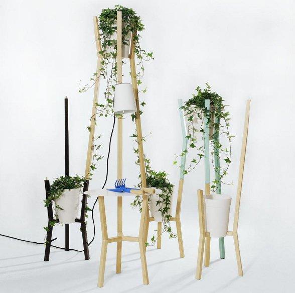 Un giardino in casa con roots di mut design possibile - Design giardino casa ...