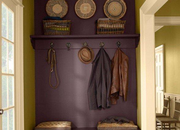 entrata colorata   Di che colore dipingere le pareti di casa?
