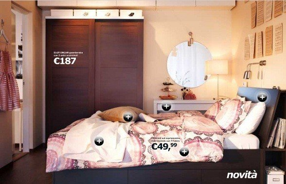 Catalogo ikea 2012 rose in the wind - Camera da letto ikea catalogo ...