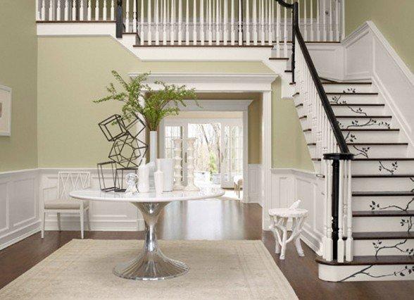 scale dipinte   Di che colore dipingere le pareti di casa?