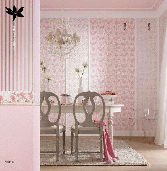 Carta da parati vesti la tua casa con gusto rose in for Carta da parati tonin casa