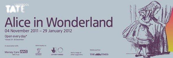 La mostra alice in wonderland arriver in italia a febbraio 2012 rose in the wind - Alice dietro lo specchio ...