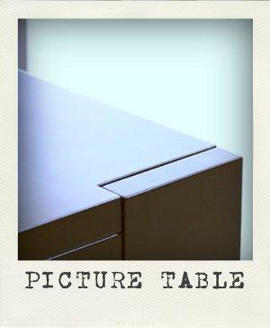 Avete Poco Spazio In Casa E Siete In Cerca Di Soluzioni Funzionali E  Originali Al Tempo Stesso? Picture Table, Ideato Da Verena Lang, Fa Proprio  Al Caso ...