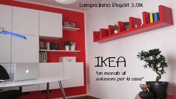 Come arredare lo studio con i mobili ikea rose in the for Arredare lo studio