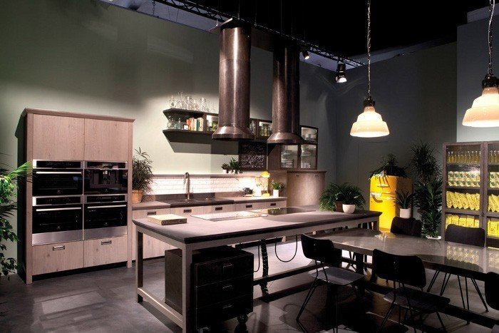 Scavolini e diesel insieme per la nuova social kitchen rose in the wind for Cucina diesel scavolini