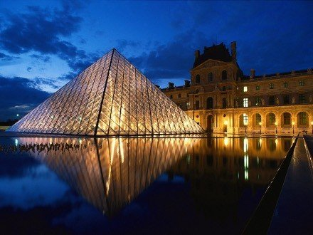 louvre20at20dusk