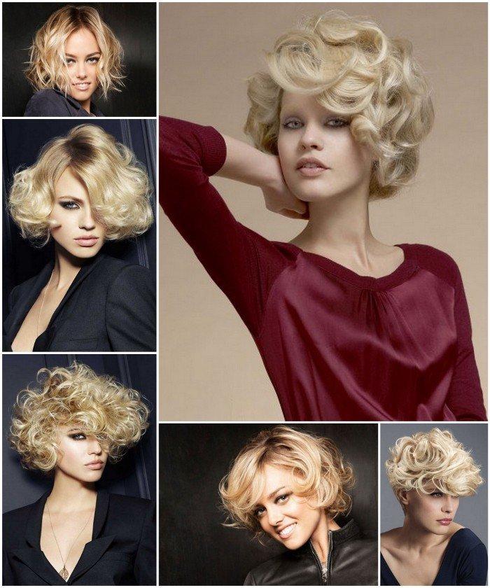 capelli corti biondi ricci   Tagli capelli corti biondi: 30 foto per scegliere il tuo nuovo look!