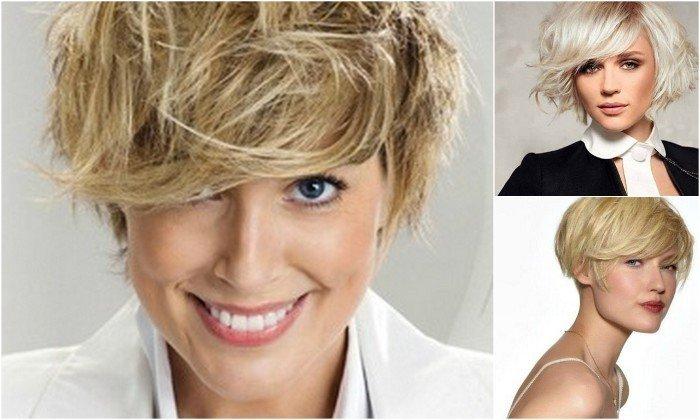 taglio corto spettinato biondo   Tagli capelli corti biondi: 30 foto per scegliere il tuo nuovo look!