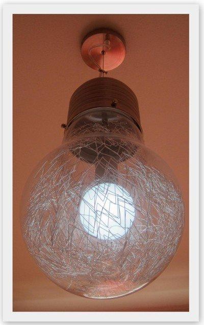 lampadario a forma di lampadina Lampadari e lampade da tavolo dalle ...
