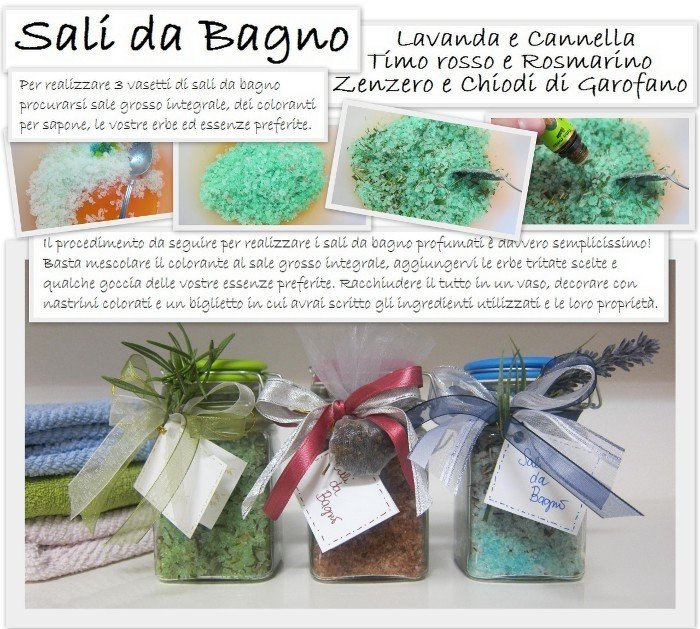 Come preparare con le tue mani dei sali da bagno colorati e profumati rose in the wind - Sali bagno fai da te ...