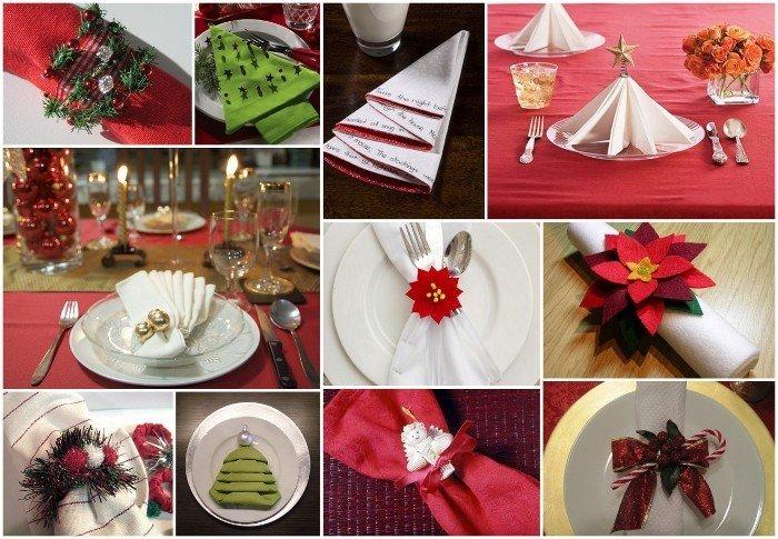 Natale Come Piegare In Modo Speciale I Tovaglioli Rose In The Wind
