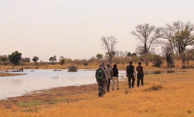 passeggiata okavango