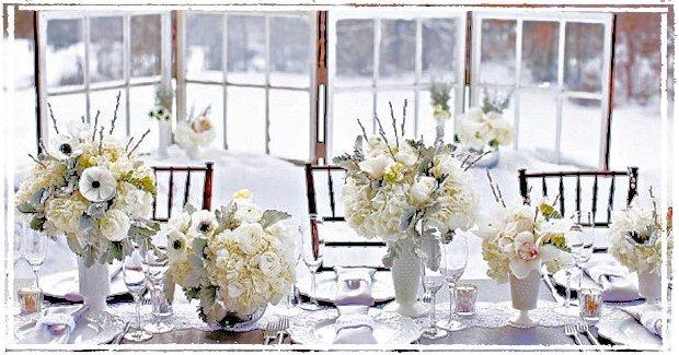 nozze come decorare il giorno speciale : ... natale Pi? di 50 Foto per Decidere come Decorare il Tavolo a Natale