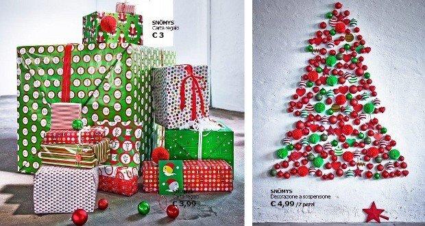 Natale 2013 regali decorazioni e addobbi ikea rose in - Decorazioni natalizie ikea ...