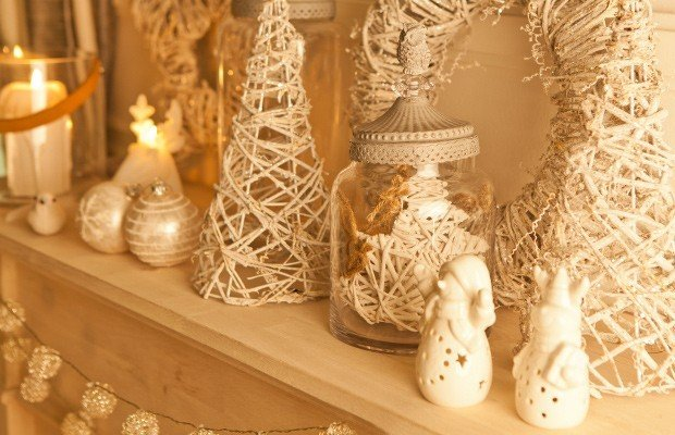 Zara home decorazioni per il natale 2013 rose in the wind - Decorazioni natalizie per finestre fai da te ...