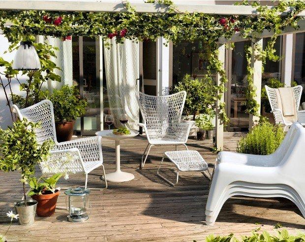 Idee Per Arredare Il Patio : Nuove idee per arredare il giardino rose in the wind