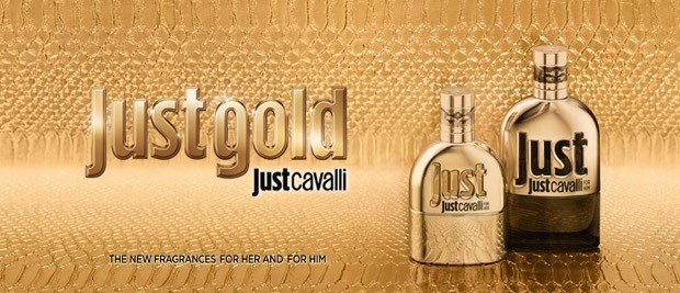 JustGold JustCavalli   Just Gold For Him e For Her: le Nuove Irresistibili Fragranze di Just Cavalli