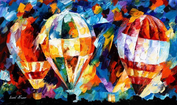 balloon-parade-by-leonid-afremov