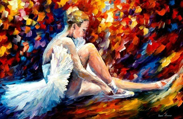 dancer-by-leonid-afremov