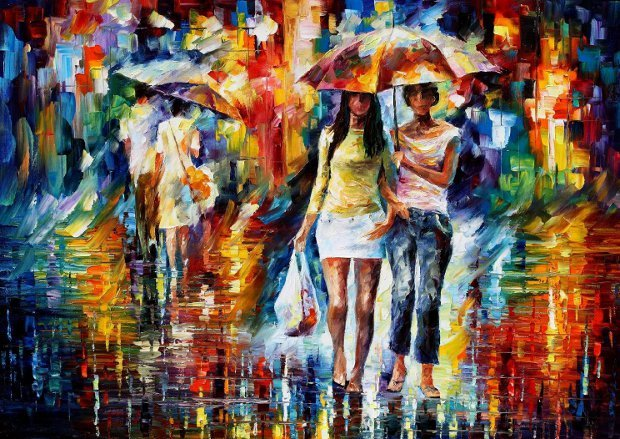 going-shopping-by-leonid-afremov