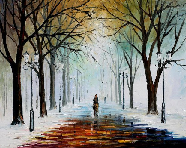 winter-mood-by-leonid-afremov