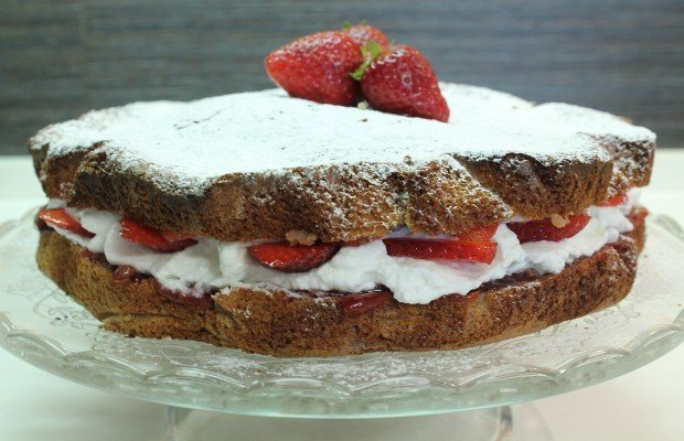 torta-di-fragole-ricetta
