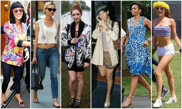 jelly sandals celebs