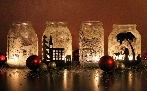 Decorare Candele Natale : Decorazioni natale fai da te rose in the wind