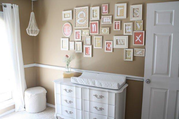 Colore pareti cameretta neonato 15 proposte rose in the for Colori cameretta bimba