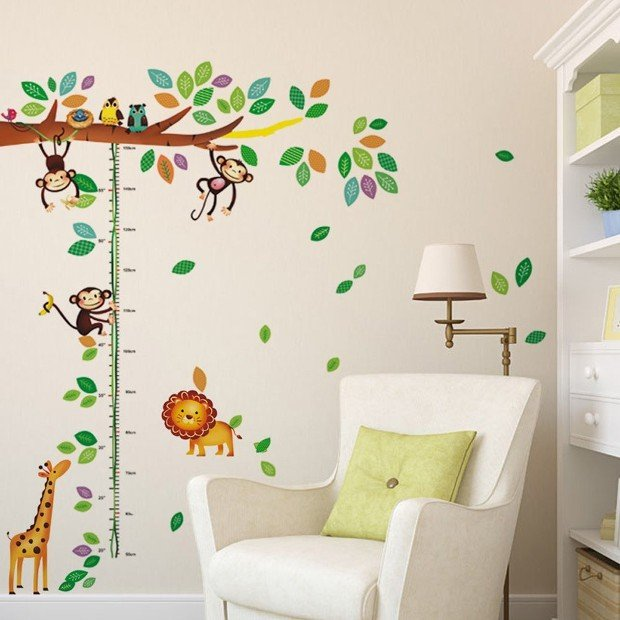 Adesivi Murali per Bambini: 20 Idee da Acquistare Online - Rose In The ...