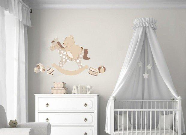 Adesivi murali per bambini 20 idee da acquistare online for Idee pareti cameretta neonato