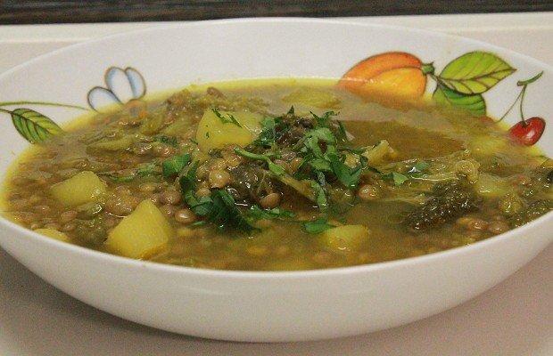 zuppa-di-lenticchie-e-verza