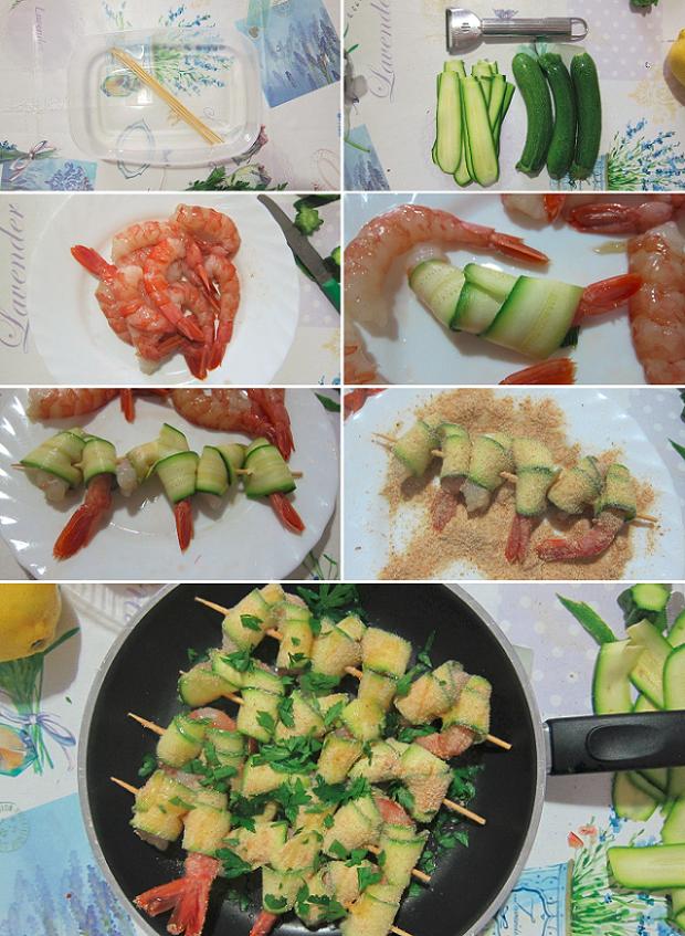 spiedini-di-gamberi-e-zucchine-ricetta